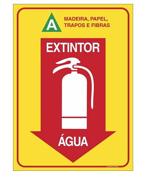 Comprar extintor de água