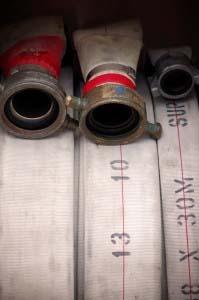 Inspeção e manutenção das mangueiras de incêndio